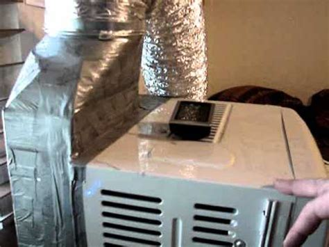 Air Conditioning Window Unit Modified - YouTube