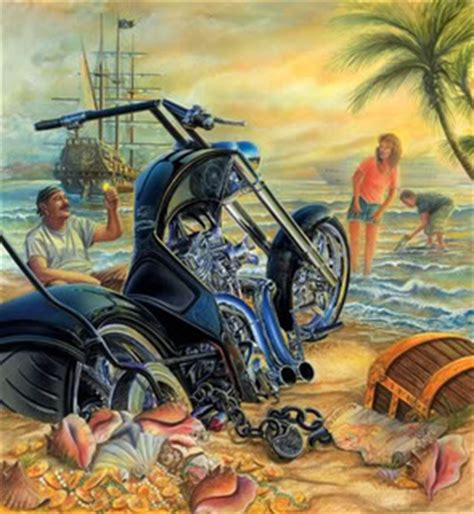 motorcycle on beach Facebook comments and graphics