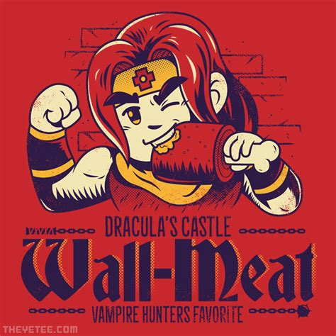 Wall-Meat from The Yetee | Day of the Shirt
