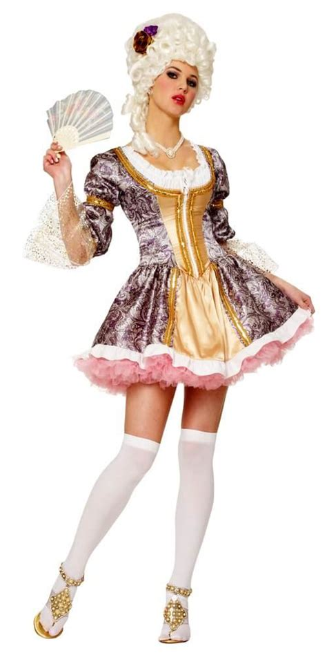 Adult French Queen Costume - Candy Apple Costumes