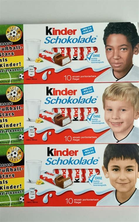 Pegida objects to Kinder using faces of black and Middle
