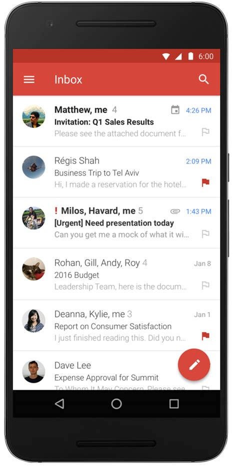 Gmail for Android adds Microsoft Exchange support - AfterDawn