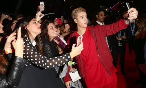 Justin Bieber in India as a part of his Purpose World Tour