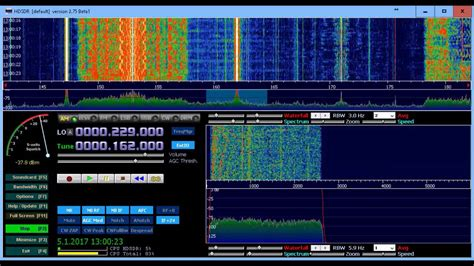 Luxembourg effect on 162kHz - YouTube