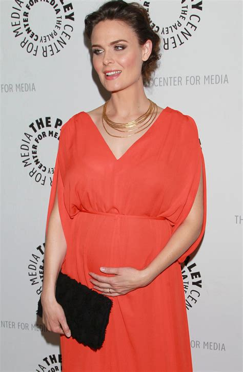 Emily Deschanel in The Paley Center For Media Presents An