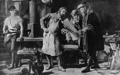 From Gutenberg to 3D: printing history