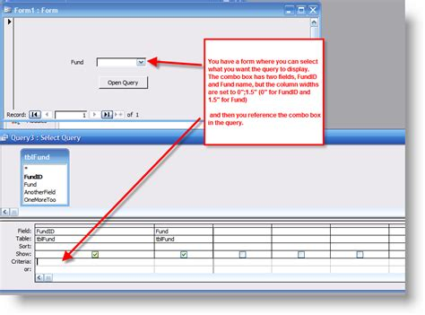 How To Use A Combo Box As Criteria For A Query | BTAB