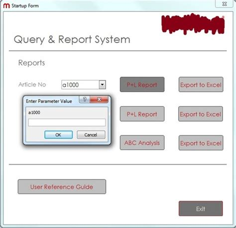 Error - Creating Report from combo-box on Form - Microsoft