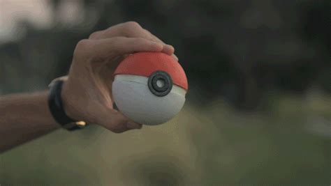 Someone made a real life Pokeball that you can use to