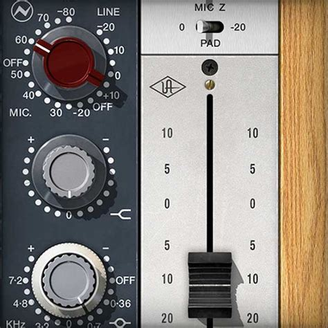 Neve 1073 Preamp & EQ Collection | UAD Audio Plugins
