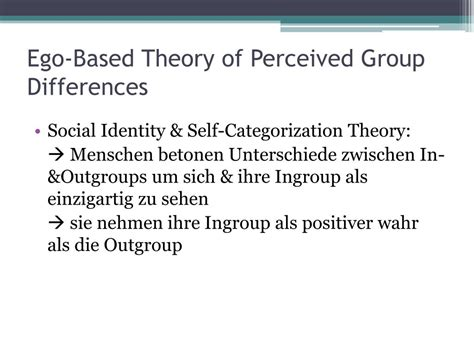 PPT - Social Categorization & the Perception of Groups and