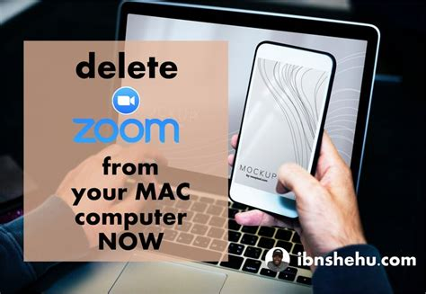Delete #Zoom from your #MAC #Computer ASAP   Mac computer