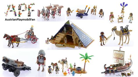 All Playmobil History Playsets 2016 Playmobil Build Review