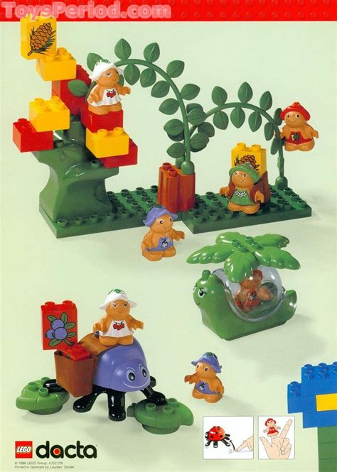 LEGO 9129 Little Forest Friends Set Parts Inventory and