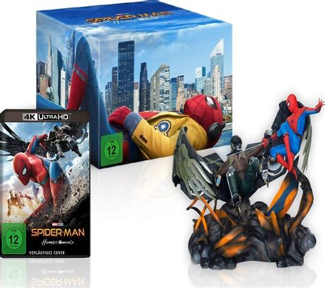 Spider-Man: Homecoming Blu-ray Exclusives Swinging to