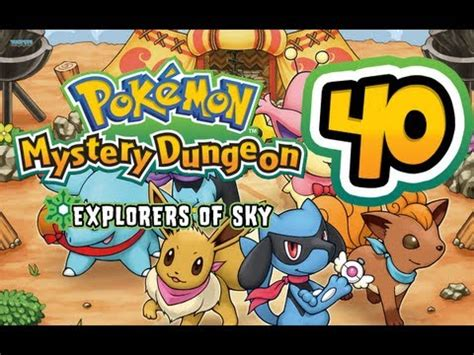 Time Gear Remix Pokemon Mystery Dungeon Explorers of Sky